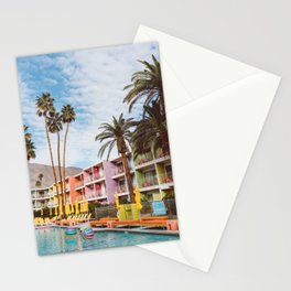 Palm Springs Pool Day VII Stationery Cards