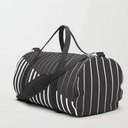 Black vs. White Duffle Bag
