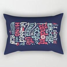 Fandom Life Rectangular Pillow