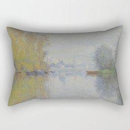 Autumn on the Seine, Argenteuil Rectangular Pillow