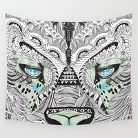 kit king Wall Tapestries featuring Kit Mambo by eos vector