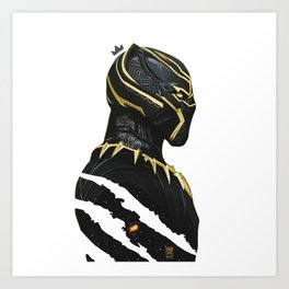BLACK PANTHER X KING MUZE Kunstdrucke