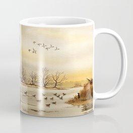 Duck Hunting Collage Coffee Mug