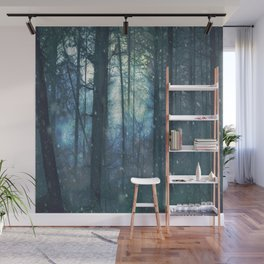 The Woods In Winter Wall Mural