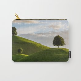 One Tree Hills, Ireland, Springtime, Emerald Isles Photograph Carry-All Pouch
