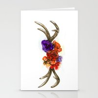 boho Stationery Cards featuring BOHO by Katya Zorin