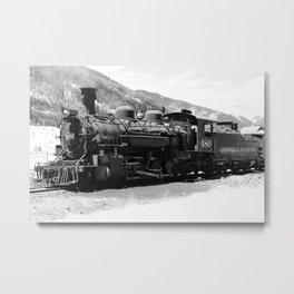 Durango - Silverton Engine 480 Metal Print