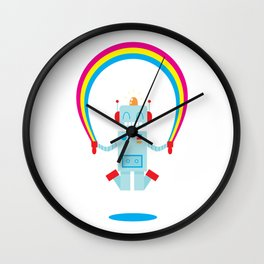 Skipping a Rainbow Wall Clock