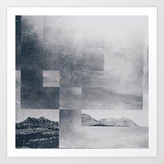 Fractions A37 Art Print