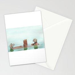 Lutrinae (Nutria, Otter) Stationery Cards