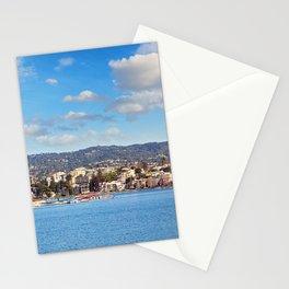 Lake Merritt Panorama - Oakland, California Stationery Cards