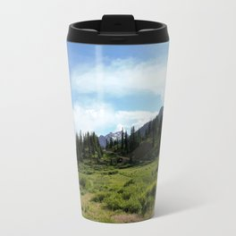 Turnoff to 12,840-foot Black Bear Pass - A Frightening and Dangerous Road Travel Mug