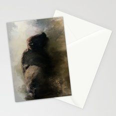 Abstract American Bison Stationery Cards