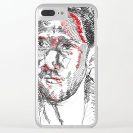 The bloody warrior Clear iPhone Case