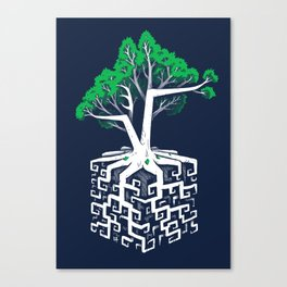 Cube Root Canvas Print