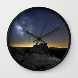 Mount Hoffman Wall Clock