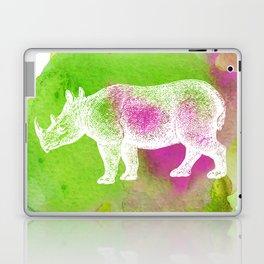 Color Spot Safari Rhinoceros Laptop & iPad Skin