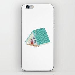Little A Frame Cabin iPhone Skin
