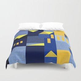 Blue Klee houses Duvet Cover