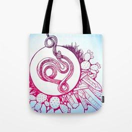 Snake Spirit Tote Bag