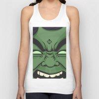 hulk Tank Tops featuring Hulk by illustrationsbynina