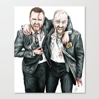breaking bad Canvas Prints featuring Breaking Bad by 13 Styx