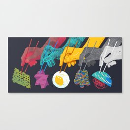 Top Ramen Canvas Print