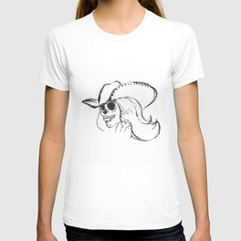 Day of the Dead Cowgirl T-shirt