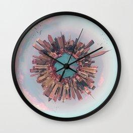 New York City mini world Wall Clock
