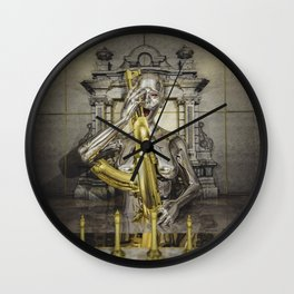 It's All A Game Wall Clock