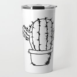 Catus Illustration Travel Mug
