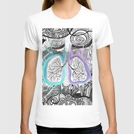 Blooming of the lungs T-shirt