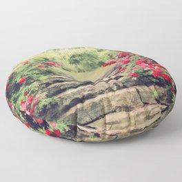 The Rose Garden Floor Pillow