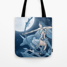 Princess Eleanor & The Flying Dolphins Tote Bag