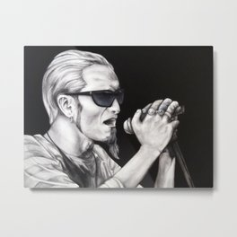 Layne Staley - Alice in Chains Metal Print