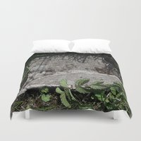 concrete Duvet Covers featuring concrete by Ruud van Koningsbrugge