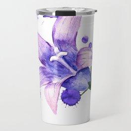 violet flower of bluebell Travel Mug