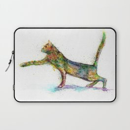 Cat abstract Laptop Sleeve