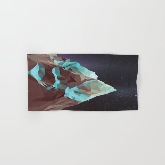Night Mountains No. 5 Hand & Bath Towel