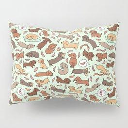 Wiener Dog Wonderland Pillow Sham