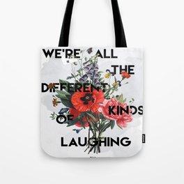 Laughing Tote Bag