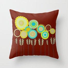 Lovely garden Throw Pillow