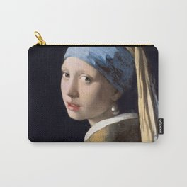 Girl with a Pearl Earring, Johannes Vermeer, 1665 Carry-All Pouch
