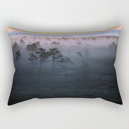 Foggy Earth Rectangular Pillow