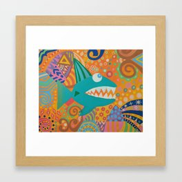 Wish Upon a Fish Framed Art Print