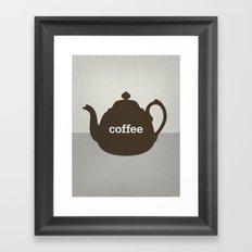 Coffee/Tea Framed Art Print
