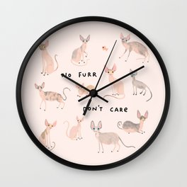 Sphyinx Cats Wall Clock