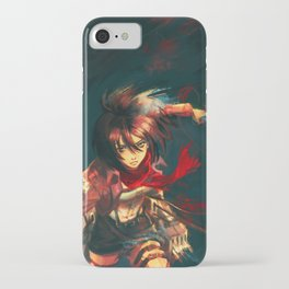 Worth a Hundred Soldiers iPhone Case