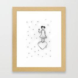 Love, Bubbles Framed Art Print