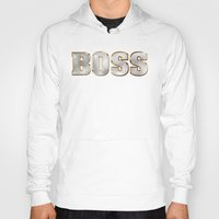 boss Hoodies featuring Boss by MG-Studio